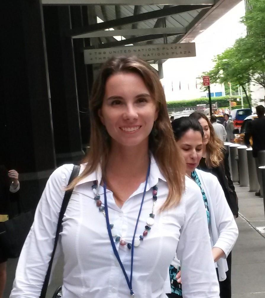 Mariana Pereira MMA, coordenação do GEF Mar no MMA